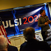 KRISTOPHER RADDER — BRATTLEBORO REFORMER<br /> U.S. Rep. Tulsi Gabbard, for Hawaii's 2nd district and candidate in the Democratic Presidential primary, holds a town hall meeting at Willie Mac's Irish Pub and Restaurant, in Keene, N.H., on Saturday, Feb. 16, 2019.