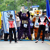"The mascots warm up before the start of the Mascot race on Thursday, June 9, during the Uni-Hill 2K run in the University Hill area of Boulder. For more photos and video of the race go to  <a href=""http://www.dailycamera.com"">http://www.dailycamera.com</a><br /> Jeremy Papasso/ Camera"
