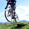 "Forrest Reynolds, of Boulder, rides his bicycle on Monday, May 21, at the Valmont Bike Park in Boulder. For more photos and video of the park go to  <a href=""http://www.dailycamera.com"">http://www.dailycamera.com</a><br /> Jeremy Papasso/ Boulder Daily Camera"
