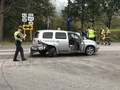 Vehicle rear-ended in Lafayette Township