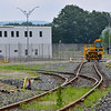 KRISTOPHER RADDER — BRATTLEBORO REFORMER<br /> A rebuilt railway system to help move material out from the Vermont Yankee Nuclear Power Plant, in Vernon, Vt., on Thursday, July 11, 2019.