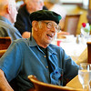 VETERANS<br /> Bob Kehoe, who served in the Army during World War II, chats with friends at Frasier Meadows retirement community during a ceremony honoring its 72 military veterans on Friday morning.<br /> <br /> Photo by Marty Caivano/July 1, 2011