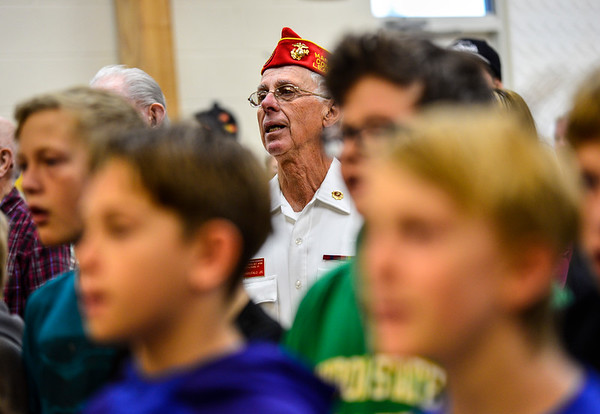 Veterans honored at Dover School - 110416