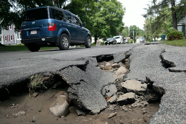 Heavy Rains Cause Damage in County 062614