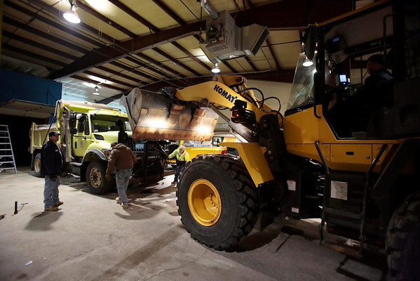 Pittsfield Highway Dept Ready for Storm-120613