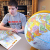 Kevin Krahmer is competing in the state National Geographic Geography Bee Friday in St. Cloud.