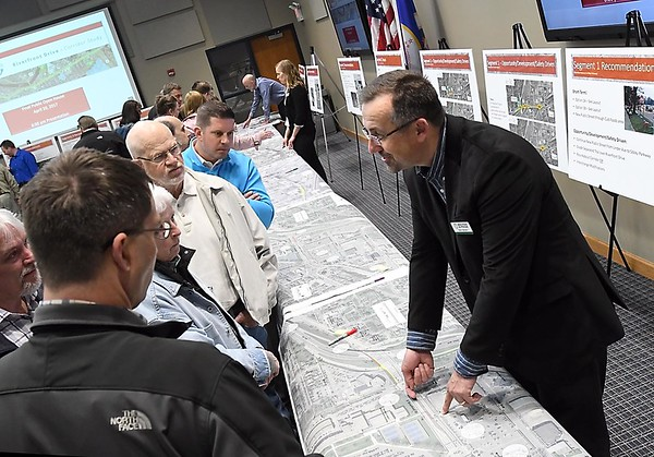 Riverfront corridor open house