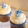 """Cupcakes made by Cheri Brown of Diamond Dust Bakery with a St. Peter Saints decorative topping. """"I'm pretty much known for my sparkles,"""" said Brown. Submitted photo"""