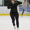 Mariah Burroughs practices for the upcoming Toy Story on Ice at All Seasons Arena. Photo by Jackson Forderer