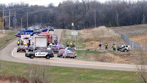 Accident on Highway 22