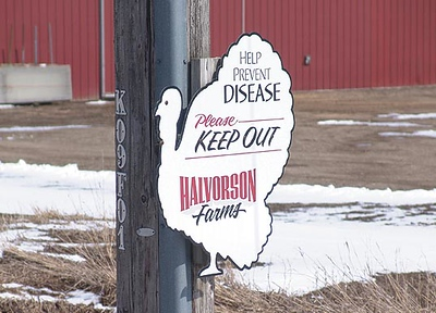 Halvorson keep out sign