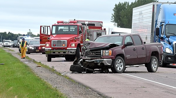 Highway 14 collision near Courtland 2