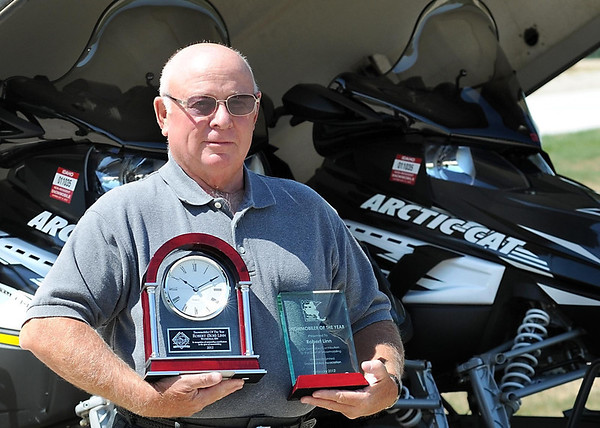 Bob Linn of rural Waterville was named Minnesota Snowmobiler of the Year and went on to win the national American Council of Snowmobile Associations 2012 Snowmobiler of the Year award.