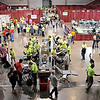 John Cross<br /> The Verizon Wireless Center was converted to a giant dental clinic Friday and Saturday for the Mission of Mercy which provides free dental care to patients.