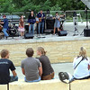 The Yonketonk Band plays during Paddle Jam Saturday at Riverfront Park.