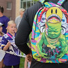 "Vikings rookie Jaleel Johnson donned a Sprayground backpack as he signed autographs for fans on the opening day of training camp. The Sprayground brand has become popular with NFL players, featuring designs from Pittsburg Steelers' Antonio Brown and New Giants' Odell Beckham Jr. ""I heard about it actually a while ago because my roommate from college with the Colts has one,"" Johnson said. Photo by Jackson Forderer"