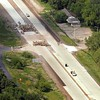 Highway 169 construction aerial 2