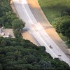 Highway 169 construction aerial 1