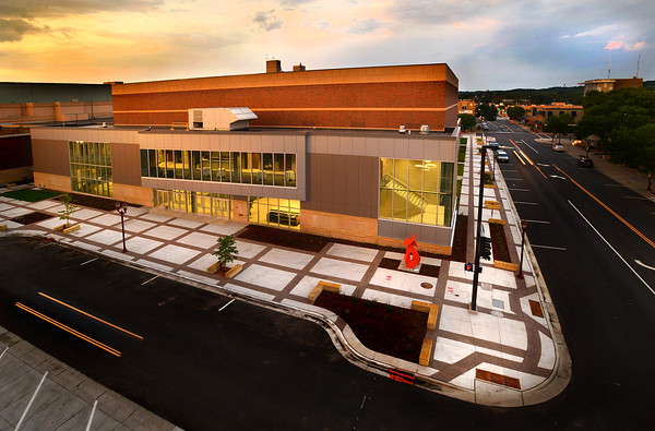 The new Performing Arts Center. Photo by Bre McGee