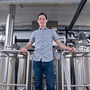 Jim Parejko, owner and brewer of LocAle Brewing Co., in the brewing room. Parejko said they hope to have a grand opening for the business in December, but the taproom is currently open to the public. Photo by Jackson Forderer