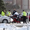Belgrade Avenue collision injures 1