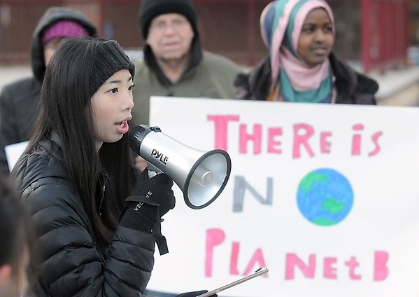Climate change protest 1