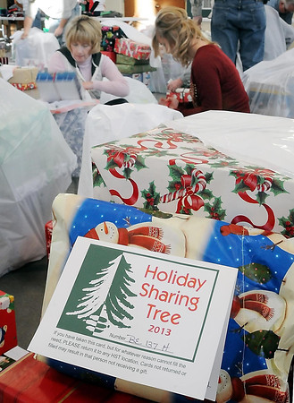 John Cross<br /> More than 45,000 gifts have been distributed to area familes since the Holiday Sharing Tree began 28 years ago.