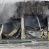 Auto repair shop fire 2