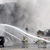 Auto repair shop fire 1