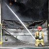 Auto repair shop fire 3