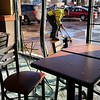 Car hits North Mankato Subway