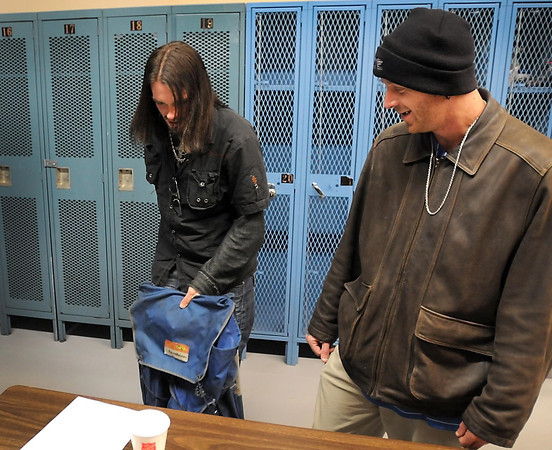Pat Christman<br /> Nathan Vickers buys a hiking backpack that David Murray found for him. Murray overheard Vickers saying he wished he had a backpack and Murray knew where to find him one.