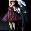 Pat Christman<br /> Kevin Hardesty dances with Jessica Alstad during Dancing with the Mankato Stars Saturday at the Verizon Wireless Center. The pair were the event's overall winners.