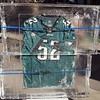 Super Bowl Eagles jersey in ice