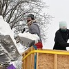 MSU snow sculpture prep 3