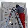 Snow sculpture finish 3