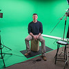 Jordan Powers of Made in Mankato in his newly built photo and video studio. Made in Mankato is one of five businesses that is housed in the newly opened Otto Media Group located at 1609 North Riverfront Drive. Photo by Jackson Forderer