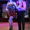 Michelle Schooff and Paul Finocchiaro dance during Saturday's Dancing With the Mankato Stars.