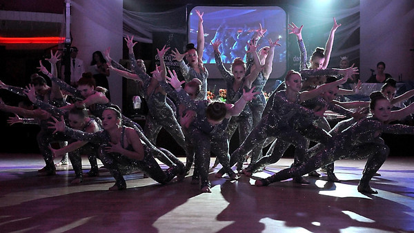 The Dance Express dancers perform during Saturday's Dancing With the Mankato Stars at the Kato Ballroom.