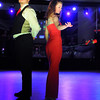 KEYC's Stacey Steinhagen and Travis Shafer begin their tango Saturday.