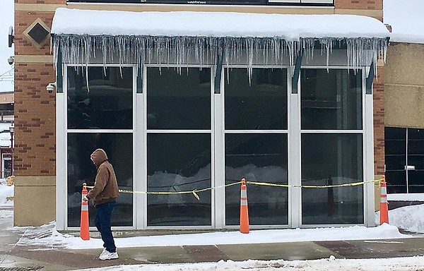 Dangerous icicles