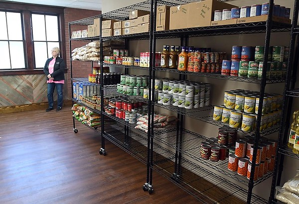 New Richland food shelf 2