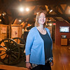 Marie Leist is the new director of the Brown County Historical Society in New Ulm. Photo by Jackson Forderer