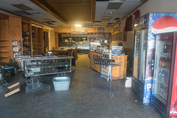 The interior of Wiste's Meat Market in downtown Janesville. Photo by Jackson Forderer
