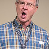 Gary Schmidt sings during a Riverblenders rehearsal at the VINE building on Tuesday. Photo by Jackson Forderer