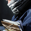 John Cross<br /> New Ulm mail carrier Dan Dorn was bundled against the cold as he made his appointed rounds in Monday's sub-zero weather.