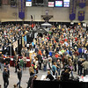 Thousands gather at the Verizon Wireless Civic Center during Saturday's Mankato Craft Beer Expo.