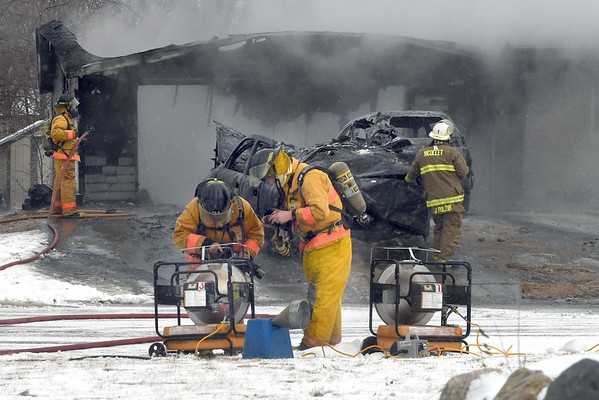 House fire in Nicollet