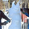 Stomper ice sculpture 7