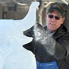Stomper ice sculpture 4